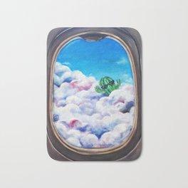 Cloud Surfing Cactus Bath Mat