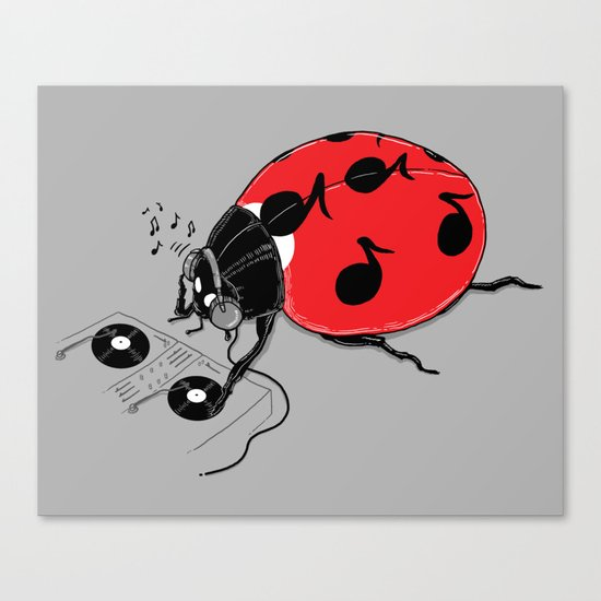 DJ beatLE  Canvas Print