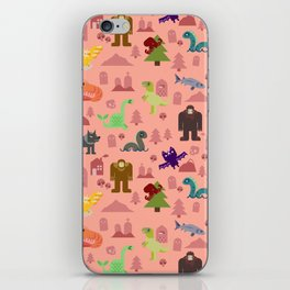 Cryptids of the PNW iPhone Skin