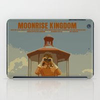moonrise kingdom iPad Cases featuring Moonrise Kingdom by FunnyFaceArt
