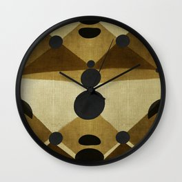 """African retro pattern (Ethnic)II"" Wall Clock"