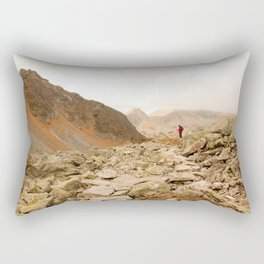 Mountains speak for themselves Rectangular Pillow