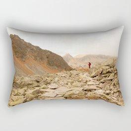 Mountains speak for themselves Rectangular Pillow