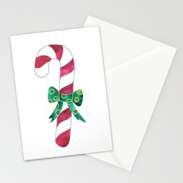 Christmas Season —Candy Canes Stationery Cards