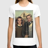 lindsay lohan T-shirts featuring Lindsay & Sam Tee! by Eric Terino