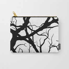 Black n White branche Carry-All Pouch