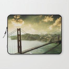 golden gate bridge in san francisco Laptop Sleeve