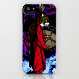 WOLF CAVE iPhone Case