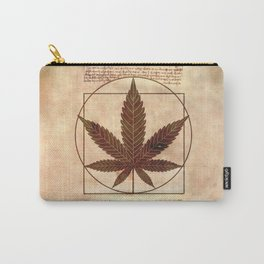 vitruvian marijuana Carry-All Pouch