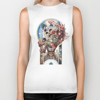 majora Biker Tanks featuring The song of Majora by Alejandra Vindas