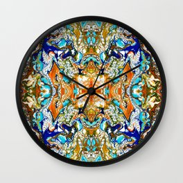 abstract shape 9 Wall Clock