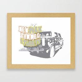 Hummer NY Framed Art Print