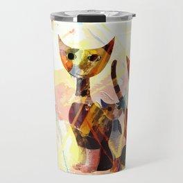 Familie Katze Travel Mug