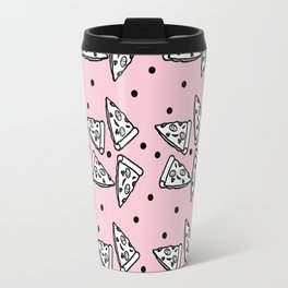 Pizza Print Travel Mug