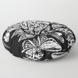 Escher - Butterflies Floor Pillow