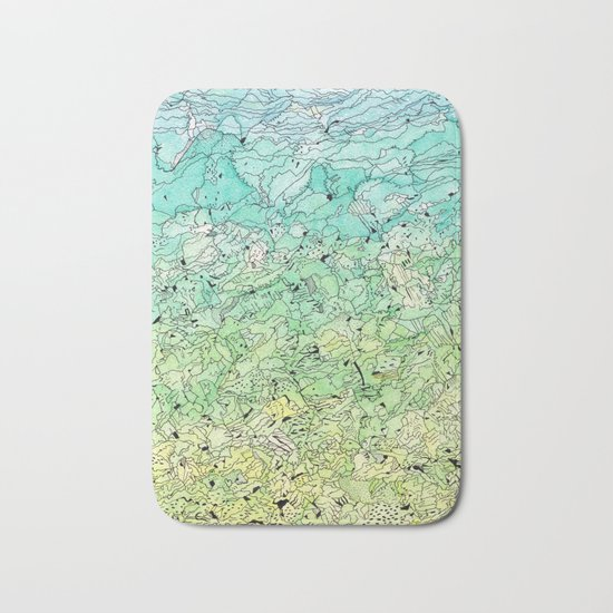 Between The Earth and Sky Bath Mat