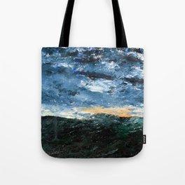 August Strindberg Wave VIII Tote Bag
