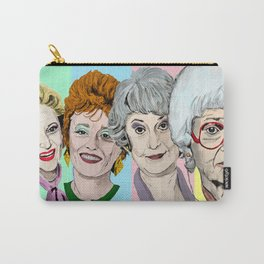 Golden Girls Multi-Colour Carry-All Pouch