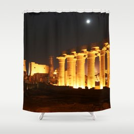The night and the moon at Temple of Luxor, no. 29 Shower Curtain
