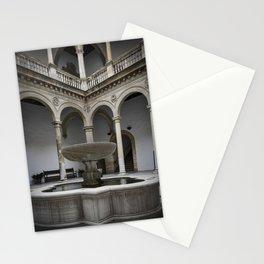 Spanish Patio with Moorish Fountain Stationery Cards