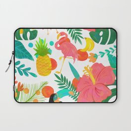 Tropical Vibes Summer Pattern Laptop Sleeve