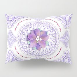 Victorian Flowers Pillow Sham