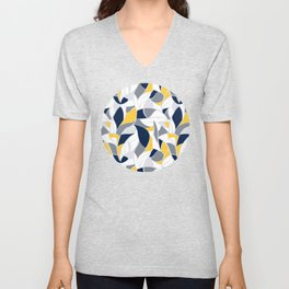 Abstract winter mood II Unisex V-Neck