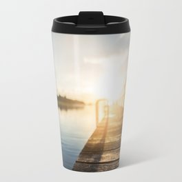 Sitting on the Dock of the Bay Travel Mug