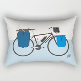 cicloviajera Rectangular Pillow