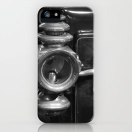 Ancient Car Headlamp iPhone Case