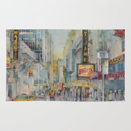Broadway,  New York - Five O'Clock Revised Rug