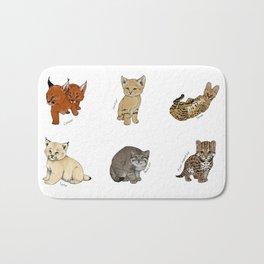 Kittens Worldwide Bath Mat
