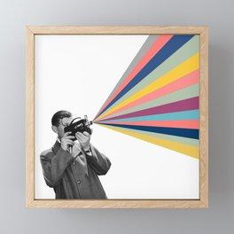 03 Movie maker Framed Mini Art Print