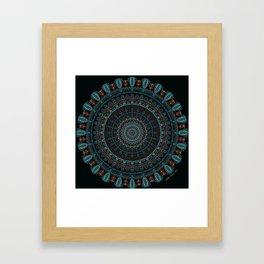 The Rug. Framed Art Print