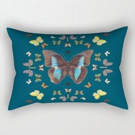 Butterfly Kaleidoscope Rectangular Pillow