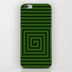 Squared Spiral iPhone & iPod Skin