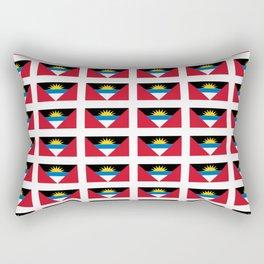 flag of Antigua and barbuda -antiguan,barbudan,caribean,antilles,Saint John,madeiran Rectangular Pillow