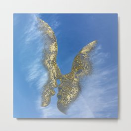 Be my Valentine & fly in the sky Metal Print