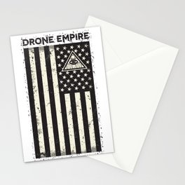 Drone Patriot  Stationery Cards