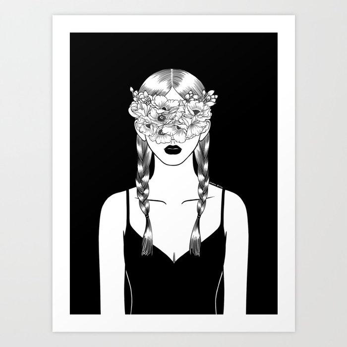 Fake Happiness Art Print