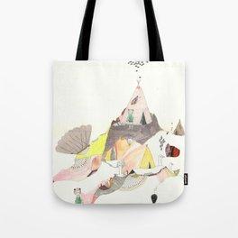 Kids Discover Magic Mountain Tote Bag