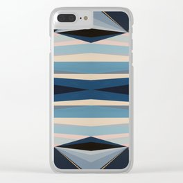 Highwayscape1 Clear iPhone Case