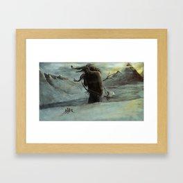 Kveikur - The Ice Giant Walks Framed Art Print