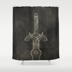 Legend of Zelda: Link Sword Shower Curtain