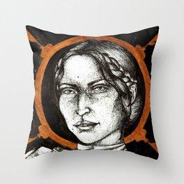 Ladies of Dragon Age: Josephine Throw Pillow