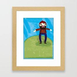 Timberjack Framed Art Print