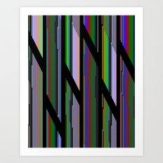 Static LXX Art Print
