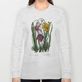 The flowering plants, grasses, sedges, & ferns of Great Britain, the club mosses, h Long Sleeve T-shirt