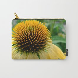 Yellow Echinacea/Coneflower Carry-All Pouch