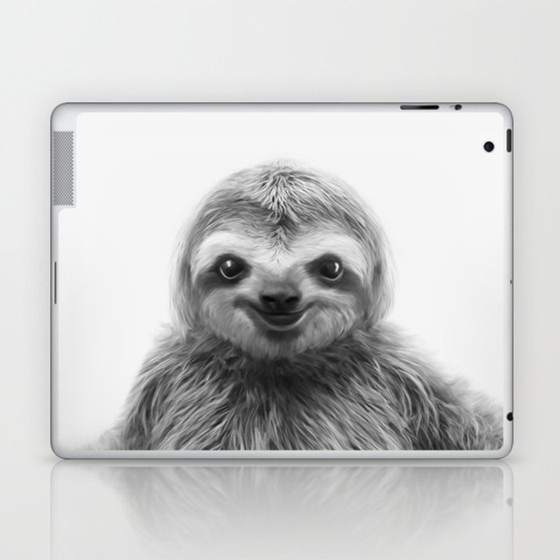 Young Sloth Laptop & iPad Skin